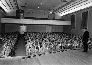 School Meeting 1954