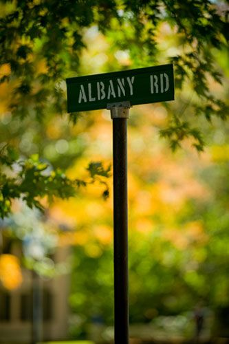 Albany-Road-Sign