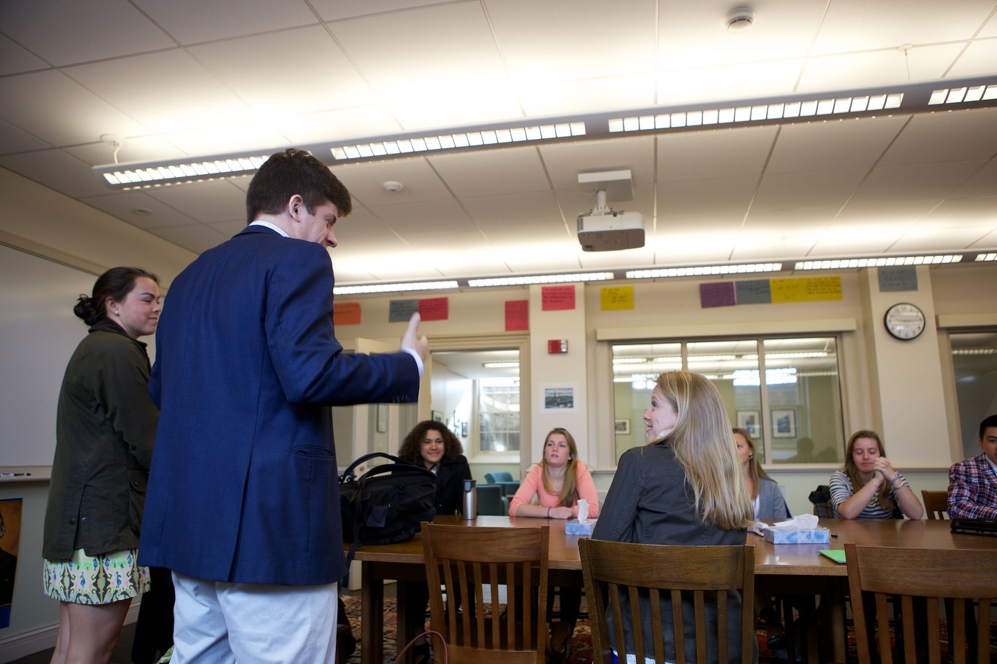 Deerfield Academy Students