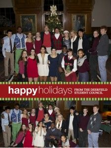 Student Council Holiday Photo