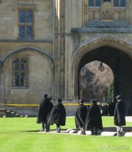 Scholars in Robes Oxford Acadia