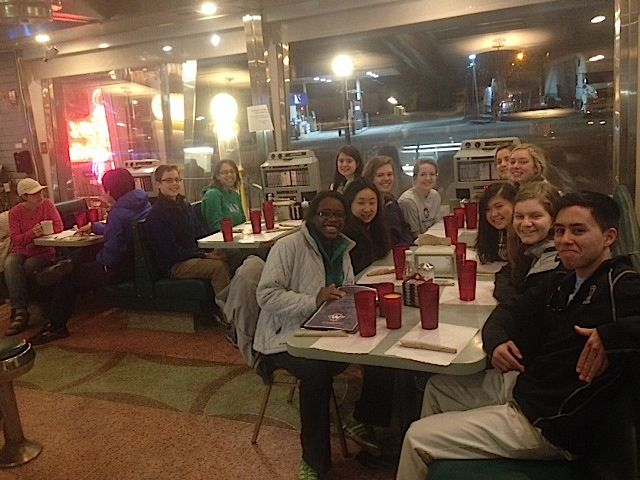 Tanzania Group at Whatley Diner