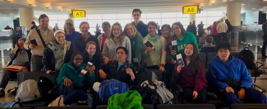 Tanzania group at JFK