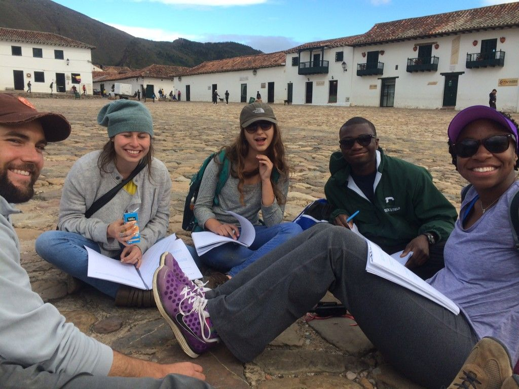 Scavenger Hutn with Briana Kofi Day 2 Colombia