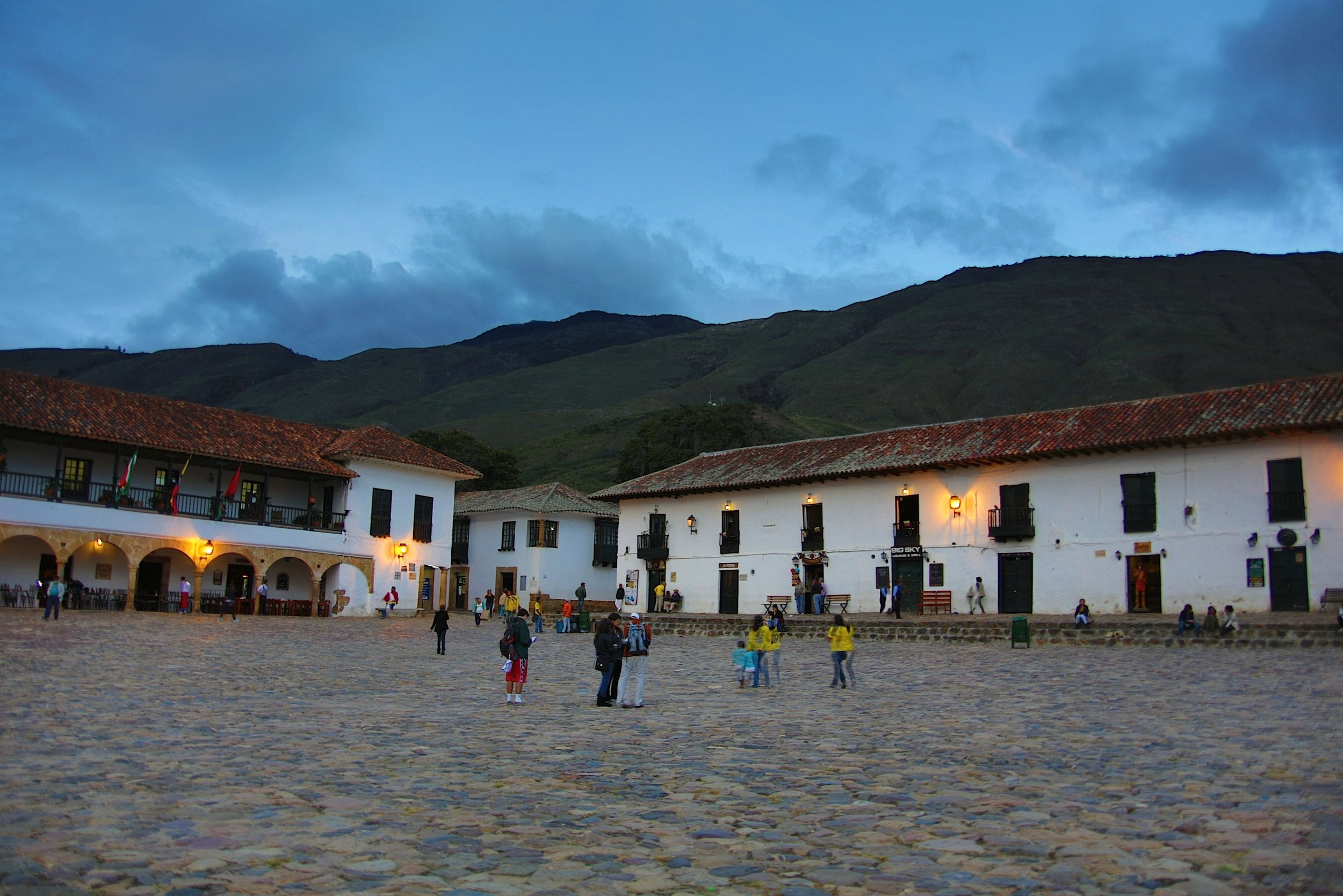 View of Villa de Leyva