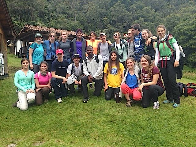 group photo from hike on Day 4