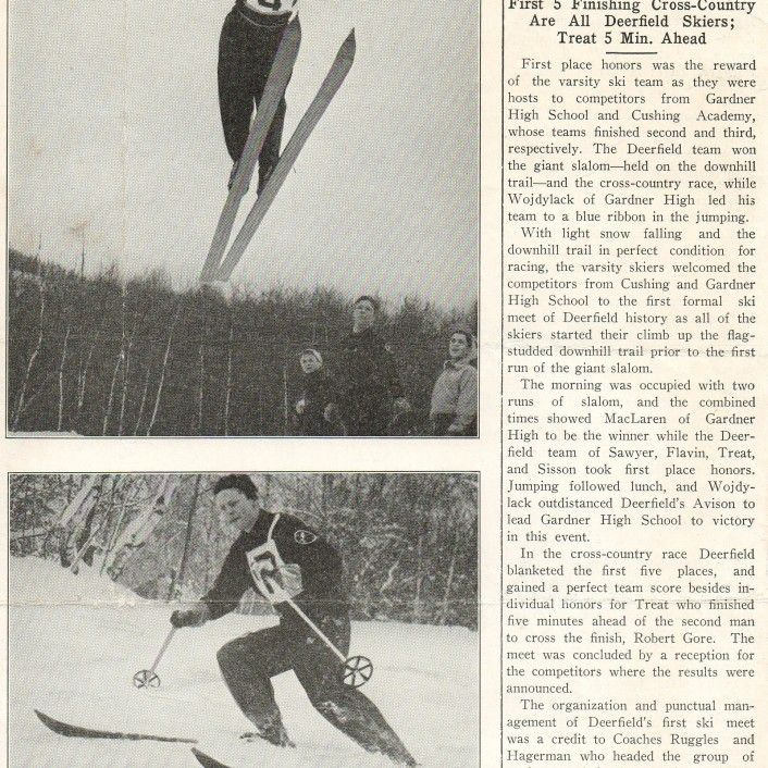 1942-02-Deerfield-Paper-SMTJr-Wins-X-Ctry-in-1st-Ski-Meet-Ever