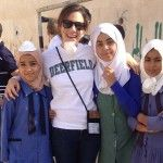 Madaba Ally and schoolgirls RS Service Project
