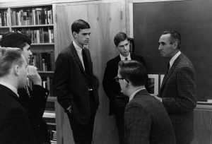 McGlynn and students 1965
