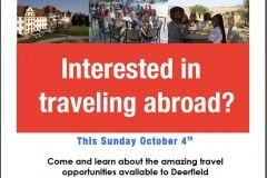 travel opportunities poster