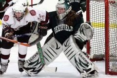 Shenae Lundberg '11 in her senior season at Deerfield vs. Loomis.