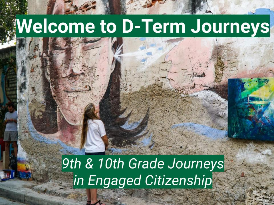D-Term Journeys Presentation_ Envoys
