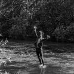 Steve Wickes at river