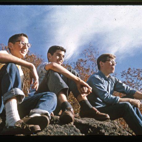 Students at rock 1960s?